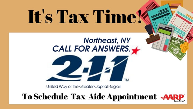It's Almost Tax Time!